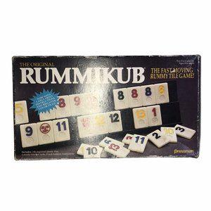 Rummikub Vintage 1990 Fast Moving Rummy Tile Game